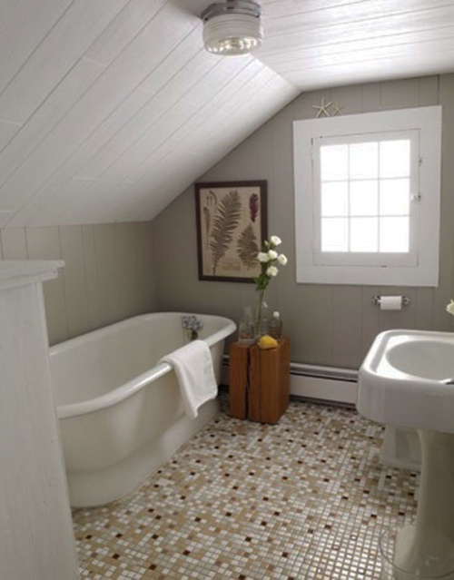 дневное освещение в ванной