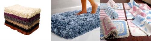 Моховый коврик для ванной комнаты
