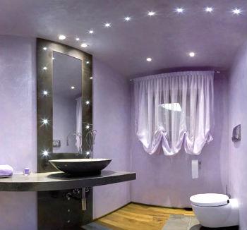 Красивая подсветка в ванной - фото