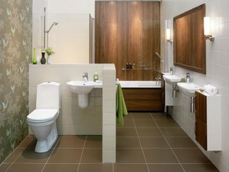 Маленькая ванная комната и ее планировка