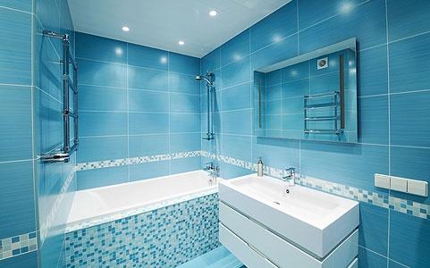 Визуальное увеличение пространства ванной комнаты