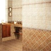 Плитка в дизайне ванной комнаты на фото