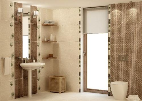 Дизайн плитки в интерьере ванной