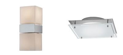 Настенные и потолочные светильники для ванной