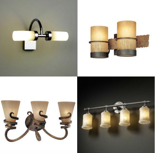 Влагостойкие светильники для ванной комнаты