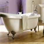 Ванна в стиле прованс несет в себе спокойствие и уют