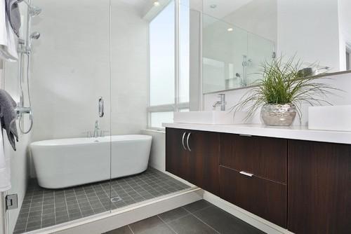 ванная в японском стиле - фото
