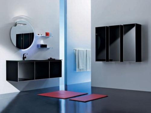 Зеркало для ванной комнаты круглое