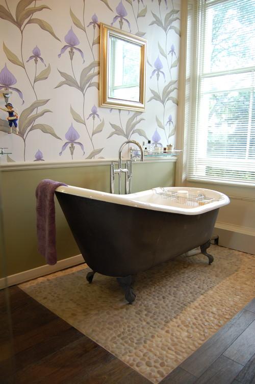 классическая форма чугунной ванны