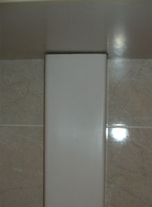 короб для ванной из пластика