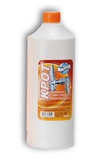 Крот - химическое средство для прочистки труб канализации