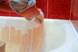 Реставрация чугунной ванны жидким акрилом или стакрилом