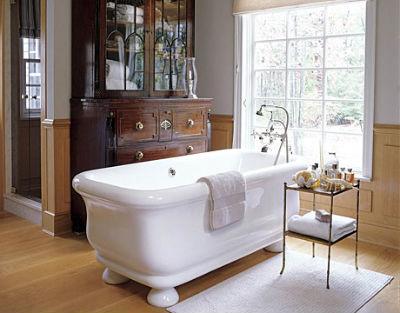 декор ванной комнаты в классическом стиле фото