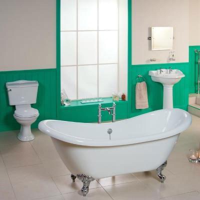 ванная в классическом стиле - фото