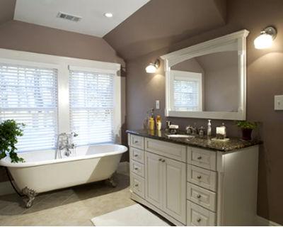 дизайн интерьера ванной в классическом стиле