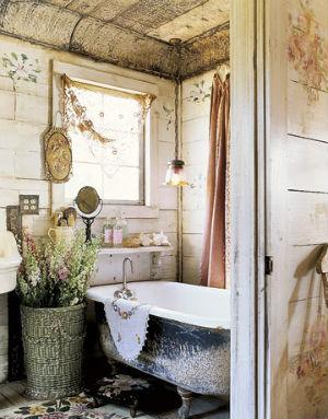 Декор ванной комнаты в стиле прованс фото