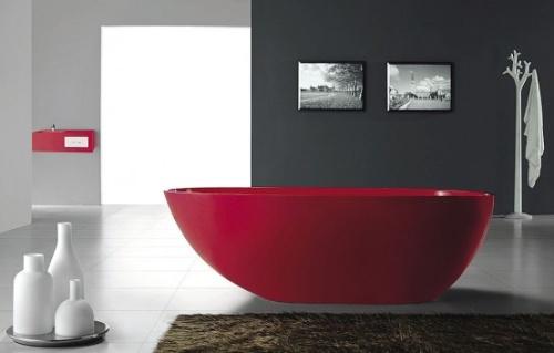 Декор ванной в стиле хай тек