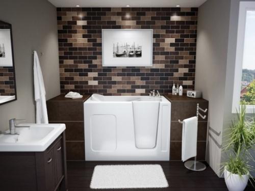 Декор ванной в стиле хай тек фото