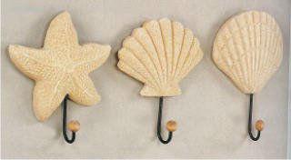 вешалки (крючки) для одежды в виде ракушек
