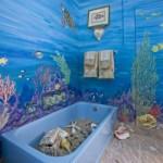 Дизайн ванной в морском стиле: подбор мебели, сантехники, аксессуаров