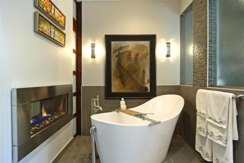 Декор ванной комнаты в японском стиле фото
