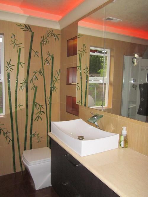 Панно из мозаики для ванной комнаты