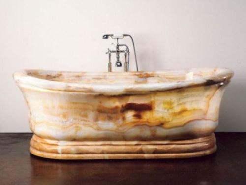 Красивый природный цвет ванны из камня