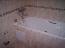 отделка в ванной комнате