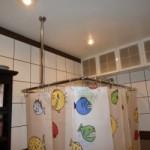 Штанги для шторы в ванную: ее разновидности и способы монтажа