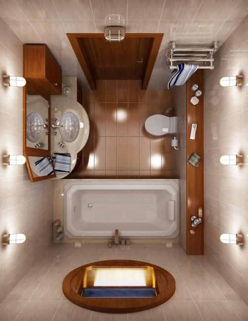Планировка ванной комнаты в панельном деме